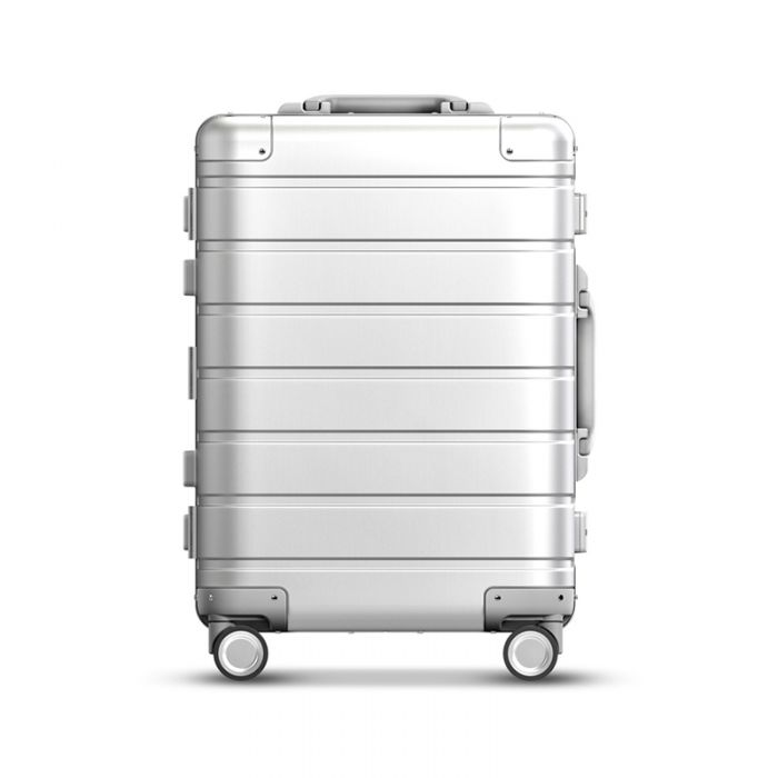"Mi 90 Points Metal Luggage 20"" Silver"