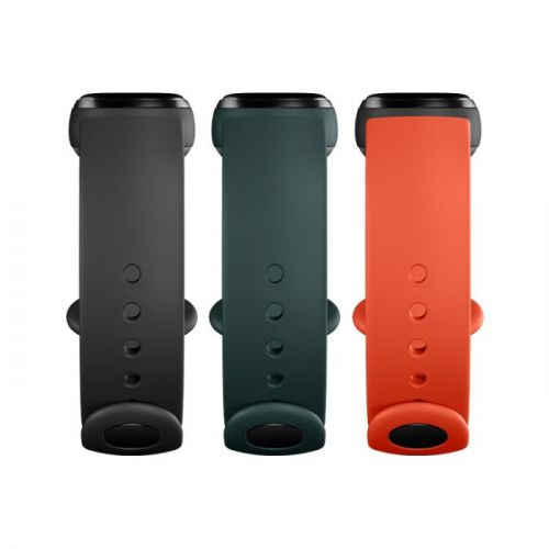 Mi Smart Band 5 Strap (3-pack) (Black, Orange, Cyan)
