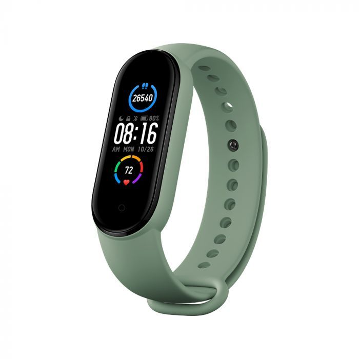 Mi Smart Band 5 Strap (3-pack) (Blue, Yellow, Green)